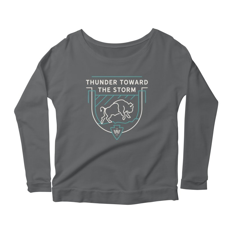 STORM + WALKINGSTICK DESIGN CO. Women's Longsleeve T-Shirt by WalkingStick Design's Artist Shop