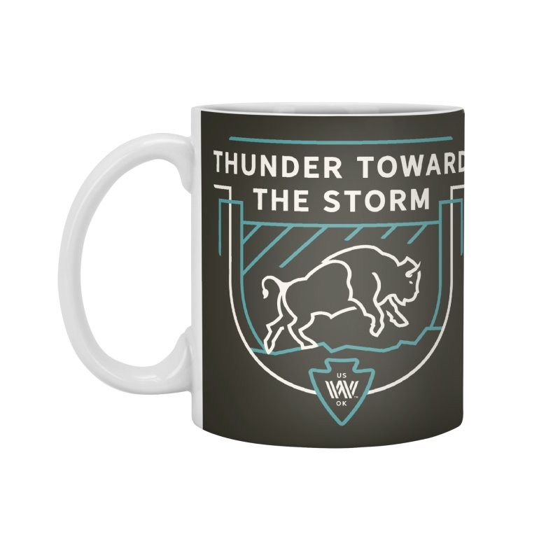 STORM + WALKINGSTICK DESIGN CO. Accessories Standard Mug by WalkingStick Design's Artist Shop