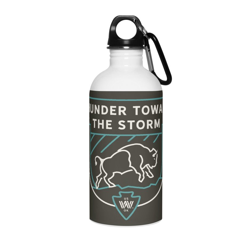 STORM + WALKINGSTICK DESIGN CO. Accessories Water Bottle by WalkingStick Design's Artist Shop