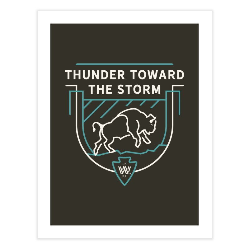 STORM + WALKINGSTICK DESIGN CO. Home Fine Art Print by WalkingStick Design's Artist Shop