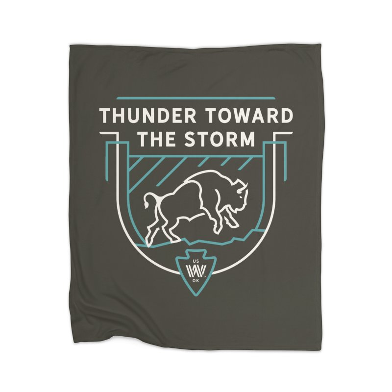 STORM + WALKINGSTICK DESIGN CO. Home Blanket by WalkingStick Design's Artist Shop