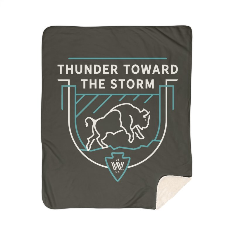 STORM + WALKINGSTICK DESIGN CO. Home Sherpa Blanket Blanket by WalkingStick Design's Artist Shop