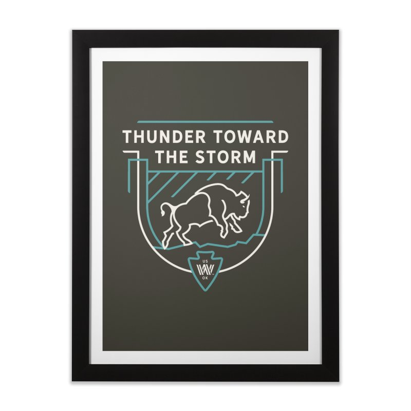 STORM + WALKINGSTICK DESIGN CO. Home Framed Fine Art Print by WalkingStick Design's Artist Shop