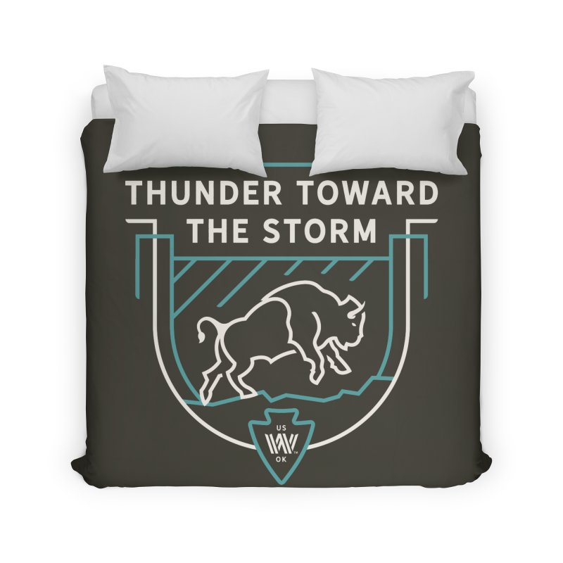 STORM + WALKINGSTICK DESIGN CO. Home Duvet by WalkingStick Design's Artist Shop