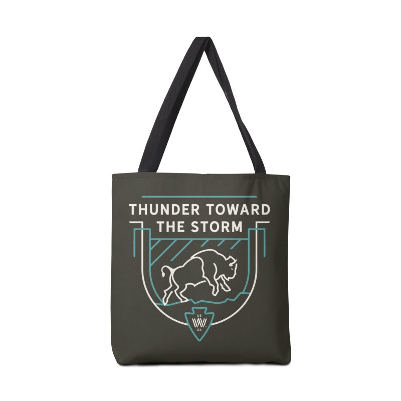 STORM + WALKINGSTICK DESIGN CO. Accessories Tote Bag Bag by WalkingStick Design's Artist Shop