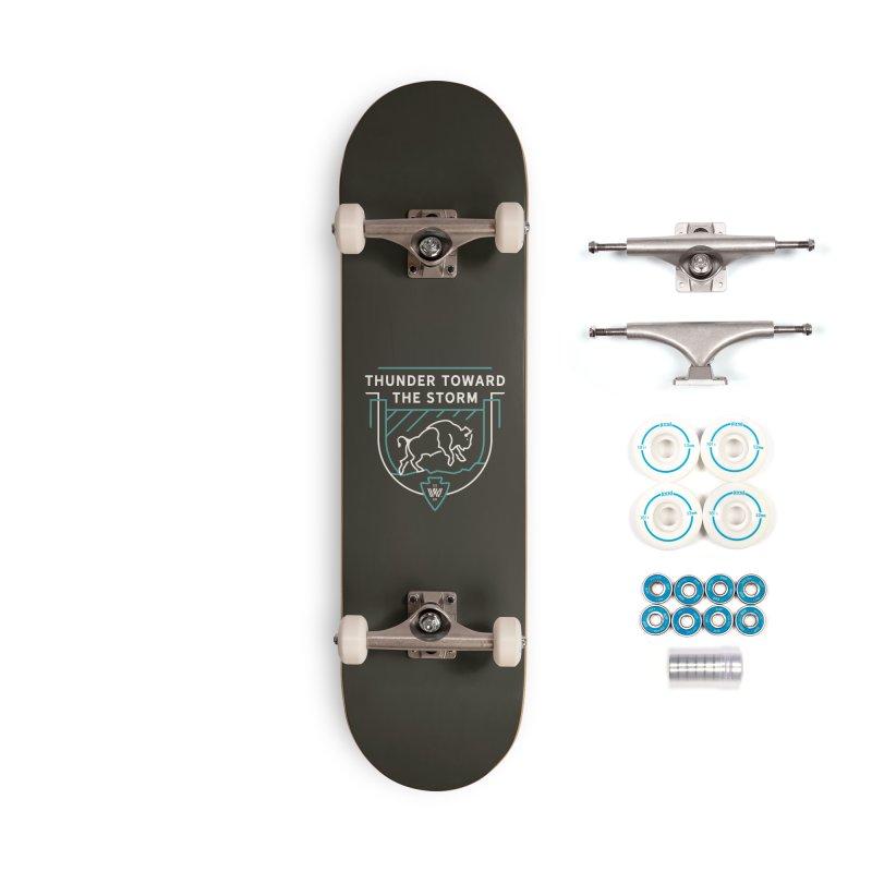 STORM + WALKINGSTICK DESIGN CO. Accessories Complete - Basic Skateboard by WalkingStick Design's Artist Shop