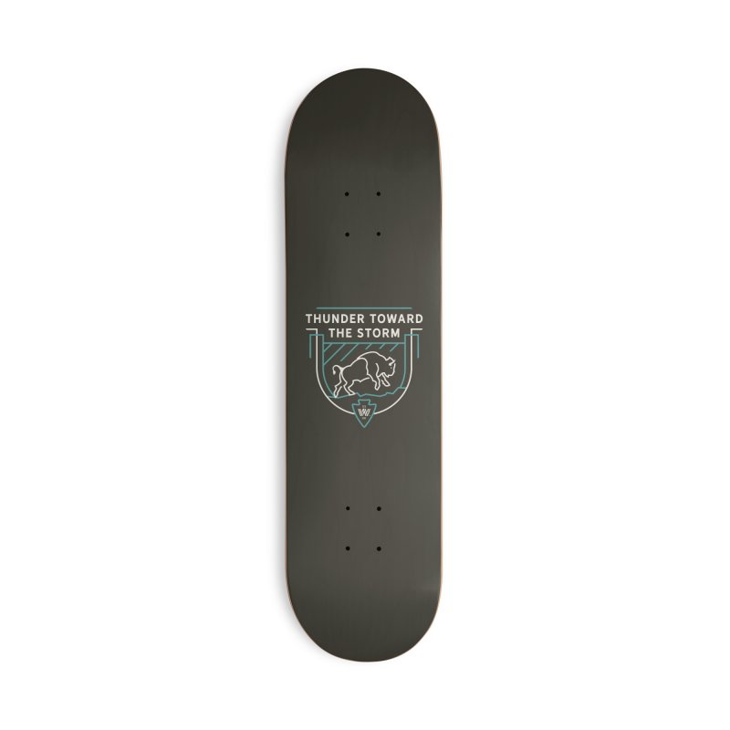 STORM + WALKINGSTICK DESIGN CO. Accessories Deck Only Skateboard by WalkingStick Design's Artist Shop