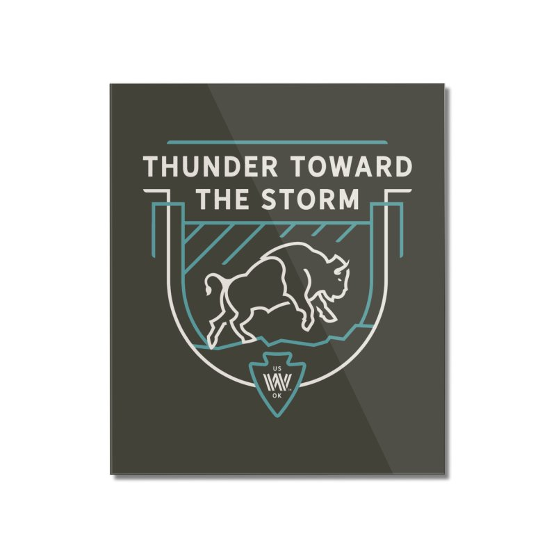 STORM + WALKINGSTICK DESIGN CO. Home Mounted Acrylic Print by WalkingStick Design's Artist Shop