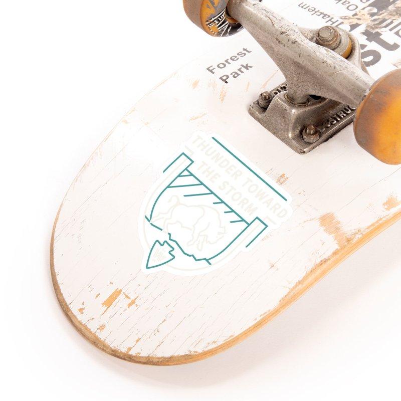 STORM + WALKINGSTICK DESIGN CO. Accessories Sticker by WalkingStick Design's Artist Shop