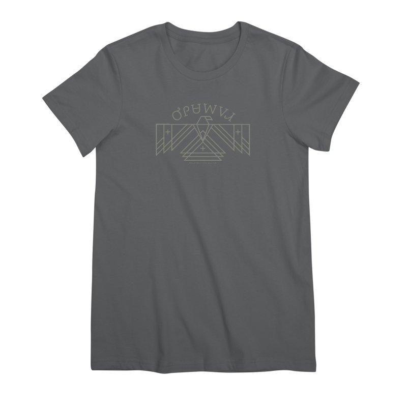 THUNDERBIRD + WALKINGSTICK DESIGN CO. Women's T-Shirt by WalkingStick Design's Artist Shop