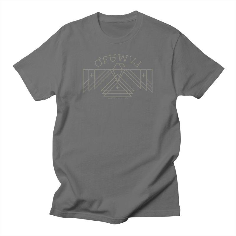THUNDERBIRD + WALKINGSTICK DESIGN CO. Men's T-Shirt by WalkingStick Design's Artist Shop
