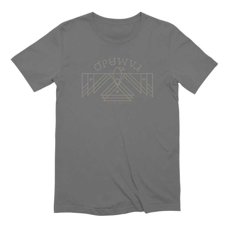THUNDERBIRD + WALKINGSTICK DESIGN CO. Men's Extra Soft T-Shirt by WalkingStick Design's Artist Shop