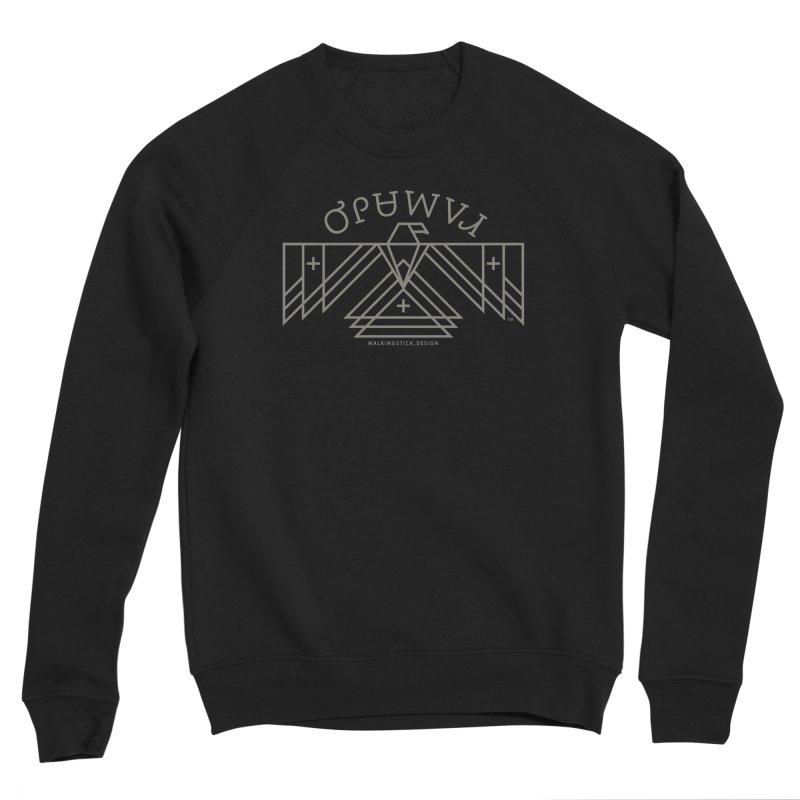 THUNDERBIRD + WALKINGSTICK DESIGN CO. Women's Sweatshirt by WalkingStick Design's Artist Shop