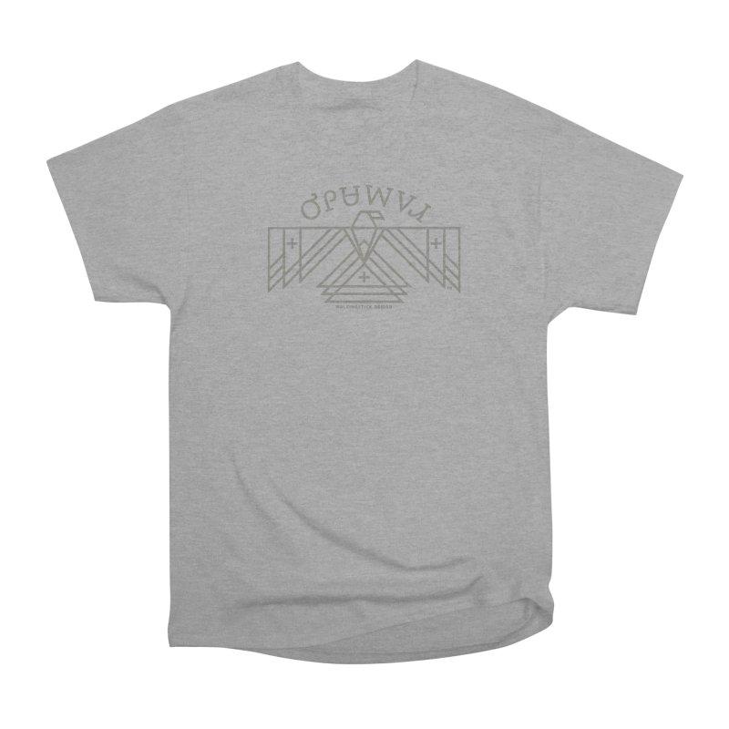 THUNDERBIRD + WALKINGSTICK DESIGN CO. Men's Heavyweight T-Shirt by WalkingStick Design's Artist Shop