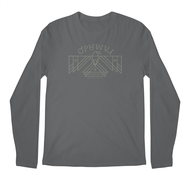 THUNDERBIRD + WALKINGSTICK DESIGN CO. Men's Regular Longsleeve T-Shirt by WalkingStick Design's Artist Shop
