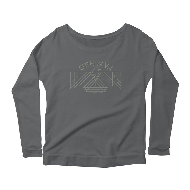 THUNDERBIRD + WALKINGSTICK DESIGN CO. Women's Longsleeve T-Shirt by WalkingStick Design's Artist Shop