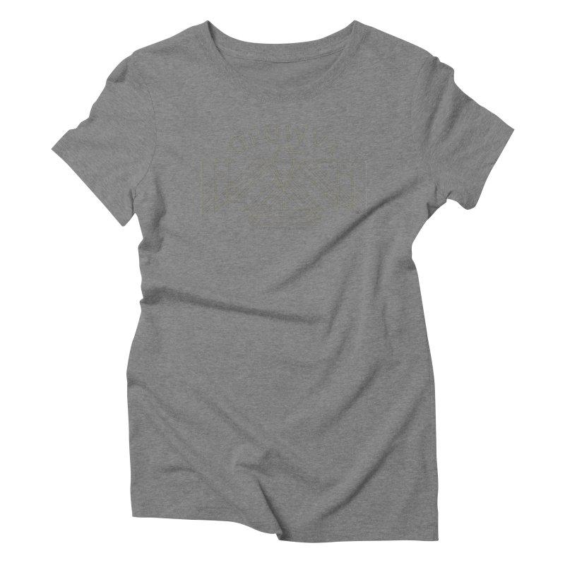 THUNDERBIRD + WALKINGSTICK DESIGN CO. Women's Triblend T-Shirt by WalkingStick Design's Artist Shop