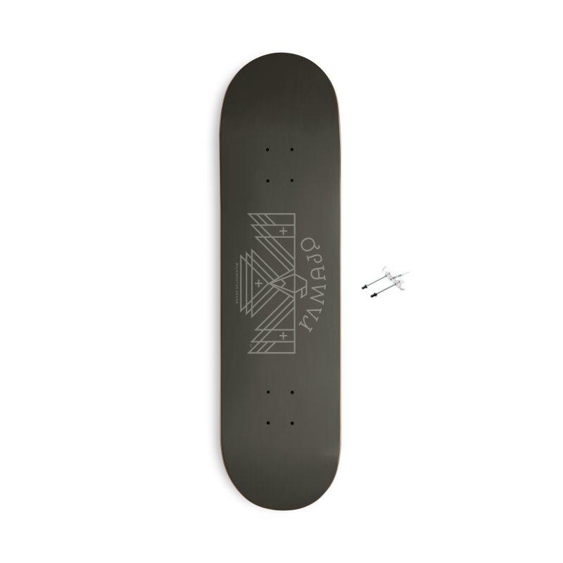 THUNDERBIRD + WALKINGSTICK DESIGN CO. Accessories With Hanging Hardware Skateboard by WalkingStick Design's Artist Shop