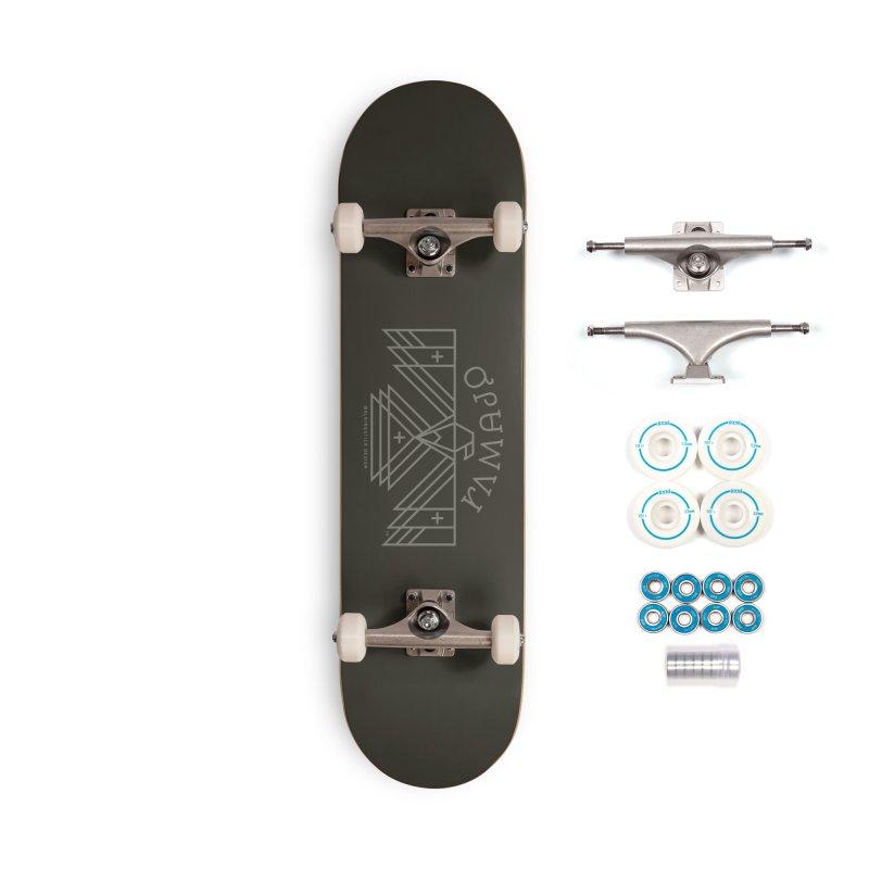 THUNDERBIRD + WALKINGSTICK DESIGN CO. Accessories Complete - Basic Skateboard by WalkingStick Design's Artist Shop