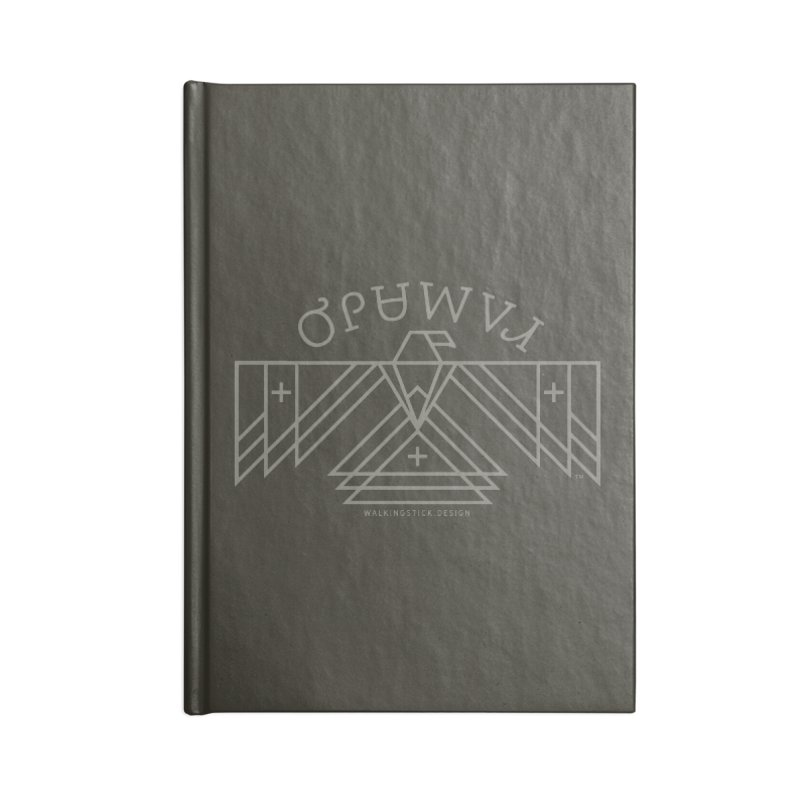 THUNDERBIRD + WALKINGSTICK DESIGN CO. Accessories Notebook by WalkingStick Design's Artist Shop