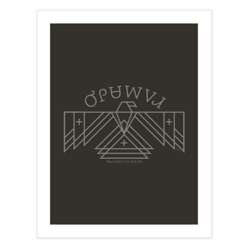 THUNDERBIRD + WALKINGSTICK DESIGN CO. Home Fine Art Print by WalkingStick Design's Artist Shop