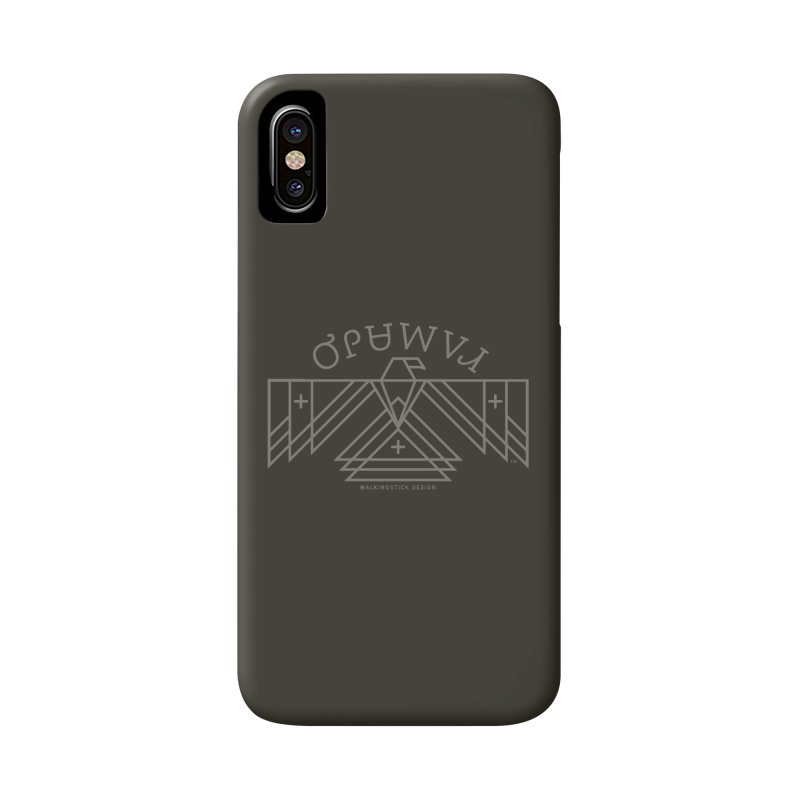 THUNDERBIRD + WALKINGSTICK DESIGN CO. Accessories Phone Case by WalkingStick Design's Artist Shop
