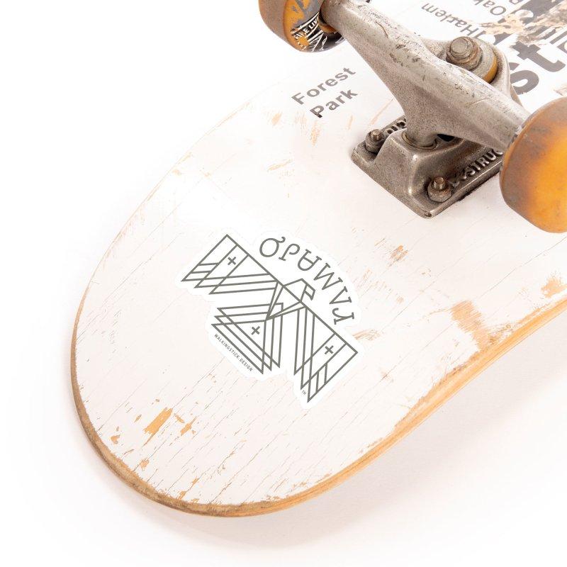 THUNDERBIRD + WALKINGSTICK DESIGN CO. Accessories Sticker by WalkingStick Design's Artist Shop