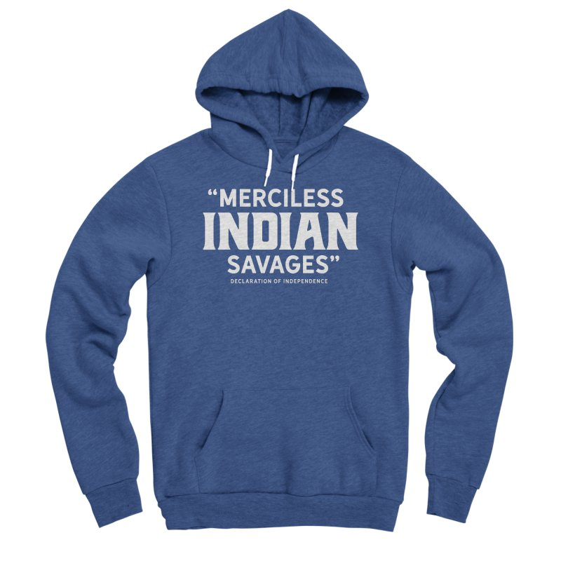 SAVAGES + WALKINGSTICK DESIGN CO. Men's Sponge Fleece Pullover Hoody by WalkingStick Design's Artist Shop