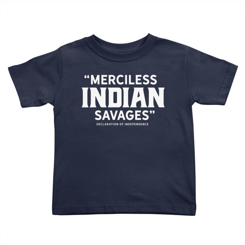 SAVAGES + WALKINGSTICK DESIGN CO. Kids Toddler T-Shirt by WalkingStick Design's Artist Shop