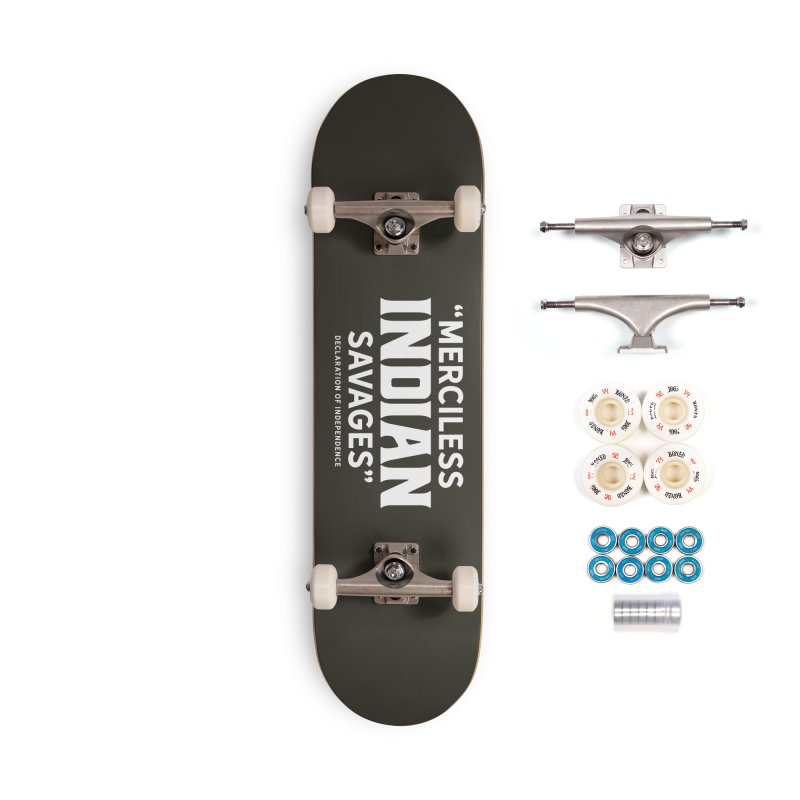SAVAGES + WALKINGSTICK DESIGN CO. Accessories Complete - Premium Skateboard by WalkingStick Design's Artist Shop