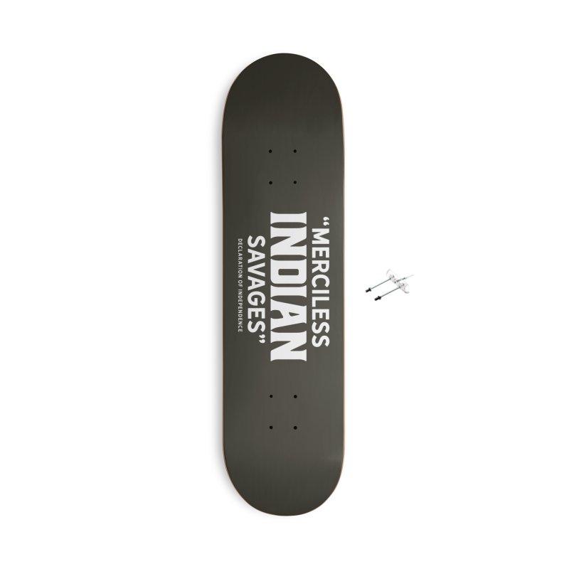 SAVAGES + WALKINGSTICK DESIGN CO. Accessories With Hanging Hardware Skateboard by WalkingStick Design's Artist Shop