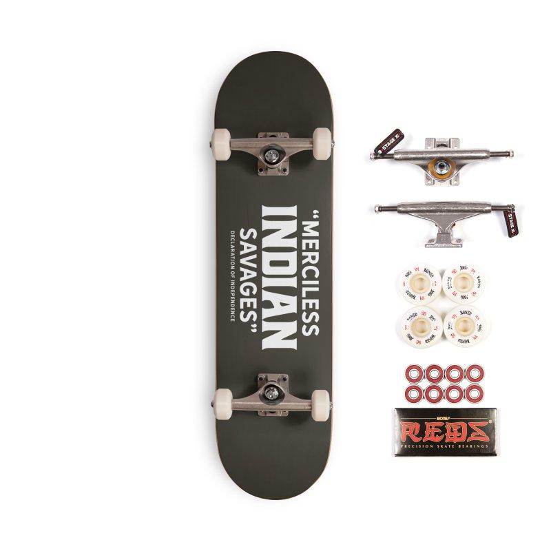 SAVAGES + WALKINGSTICK DESIGN CO. Accessories Complete - Pro Skateboard by WalkingStick Design's Artist Shop
