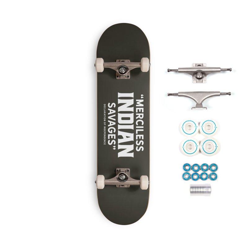 SAVAGES + WALKINGSTICK DESIGN CO. Accessories Complete - Basic Skateboard by WalkingStick Design's Artist Shop