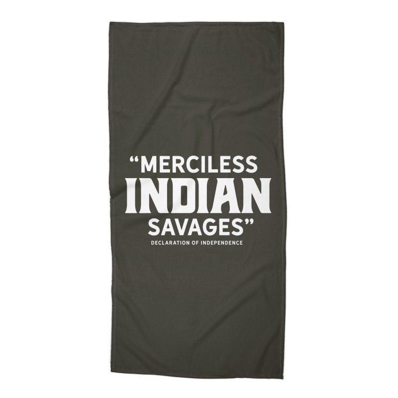 SAVAGES + WALKINGSTICK DESIGN CO. Accessories Beach Towel by WalkingStick Design's Artist Shop