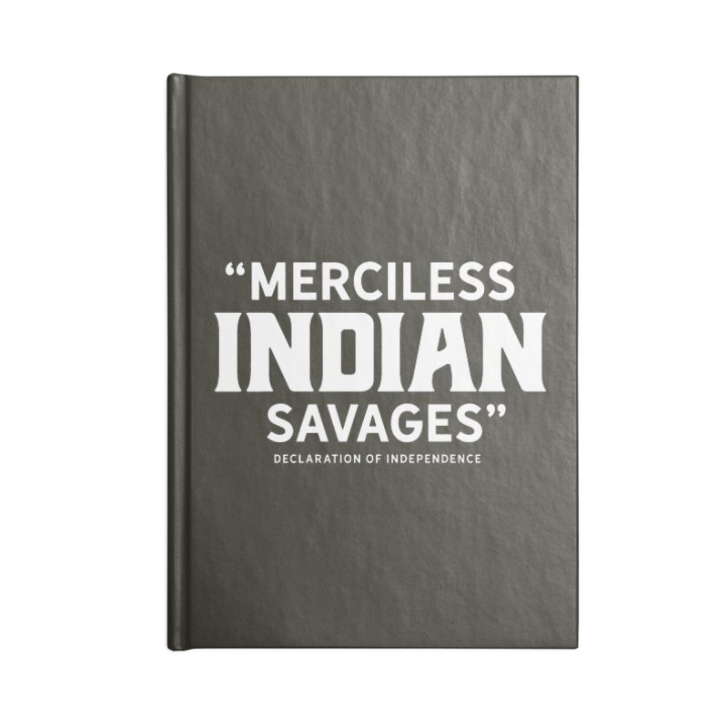 SAVAGES + WALKINGSTICK DESIGN CO. Accessories Blank Journal Notebook by WalkingStick Design's Artist Shop