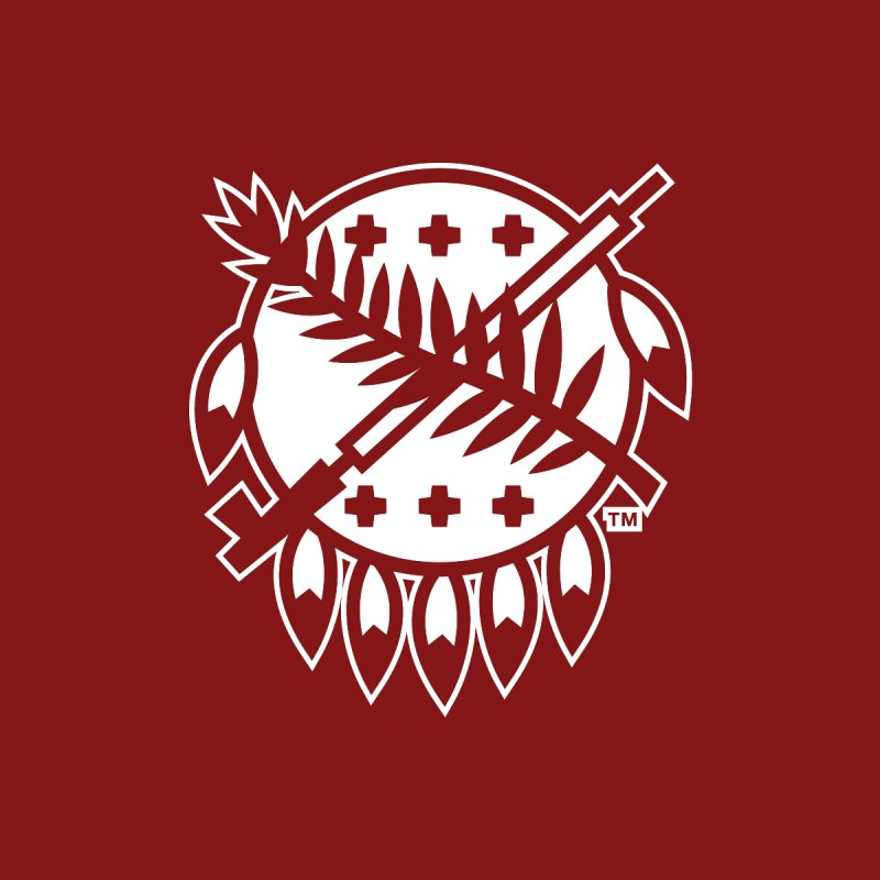 Osage Shield Home Blanket by WalkingStick Design's Artist Shop