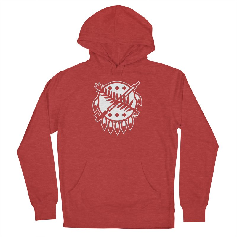 Osage Shield Men's Pullover Hoody by walkingstickdesign's Artist Shop