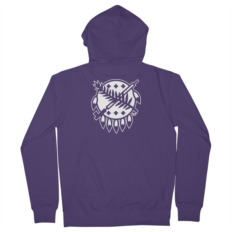 Osage Shield Women's Zip-Up Hoody by walkingstickdesign's Artist Shop