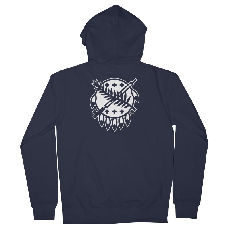 Osage Shield Men's Zip-Up Hoody by walkingstickdesign's Artist Shop