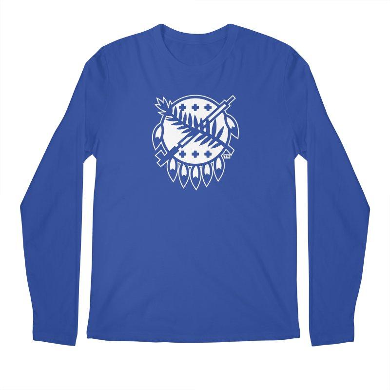 Osage Shield Men's Regular Longsleeve T-Shirt by WalkingStick Design's Artist Shop