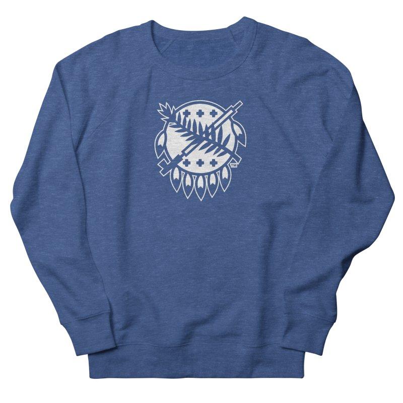 Osage Shield Women's French Terry Sweatshirt by WalkingStick Design's Artist Shop