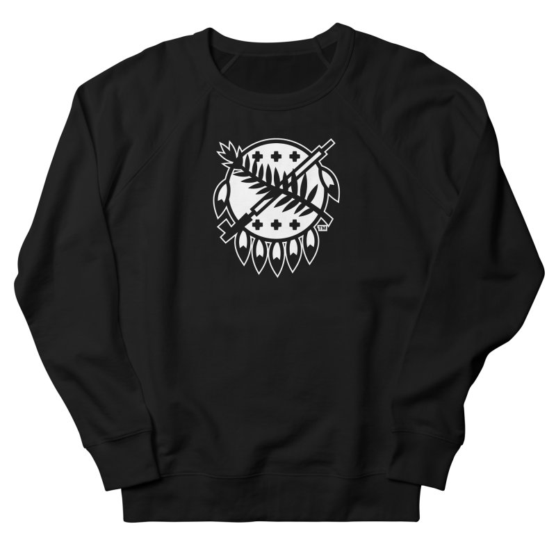 Osage Shield Women's Sweatshirt by walkingstickdesign's Artist Shop