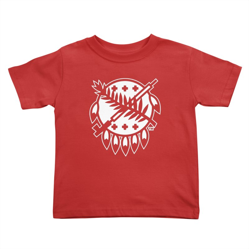 Osage Shield Kids Toddler T-Shirt by WalkingStick Design's Artist Shop