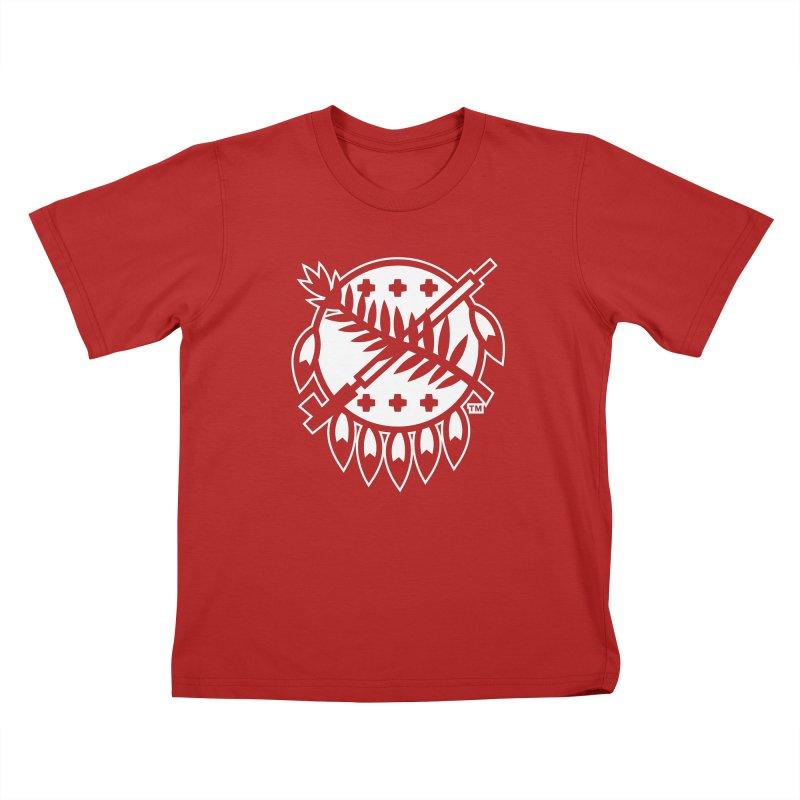 Osage Shield Kids T-shirt by walkingstickdesign's Artist Shop