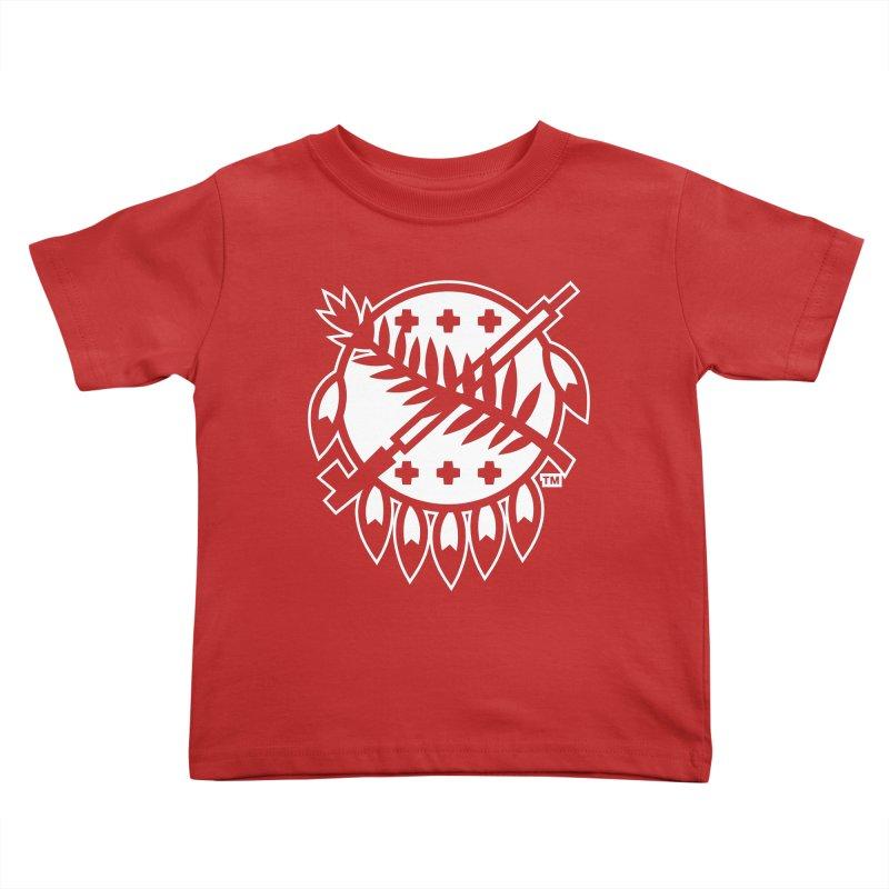 Osage Shield Kids Toddler T-Shirt by WalkingStick Design's Artist Shop