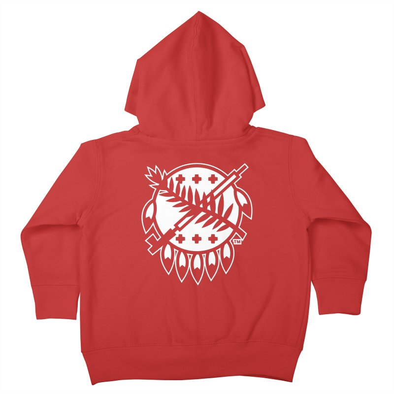 Osage Shield Kids Toddler Zip-Up Hoody by WalkingStick Design's Artist Shop