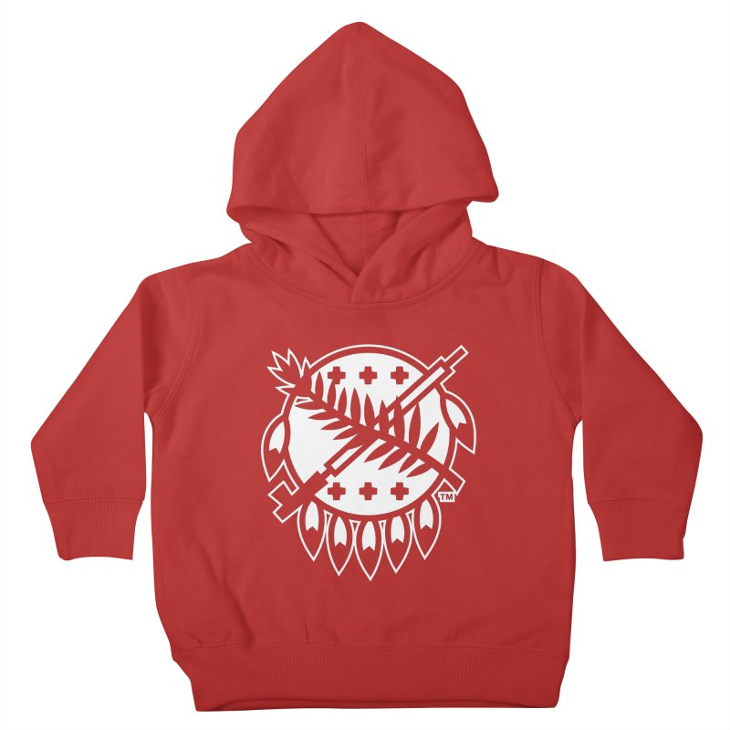 Osage Shield Kids Toddler Pullover Hoody by walkingstickdesign's Artist Shop