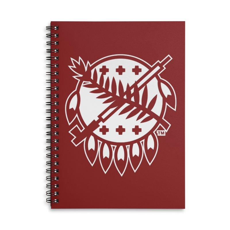 Osage Shield Accessories Notebook by WalkingStick Design's Artist Shop