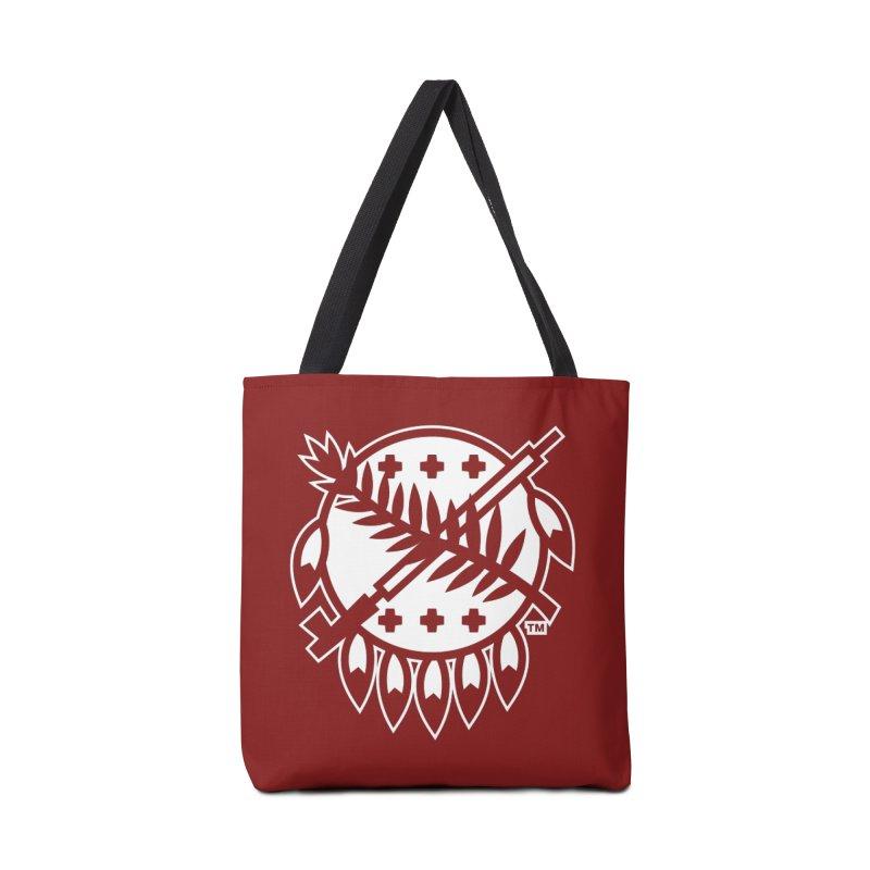 Osage Shield Accessories Bag by walkingstickdesign's Artist Shop