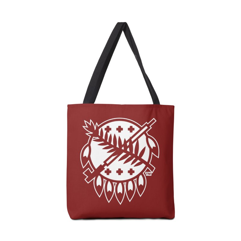 Osage Shield Accessories Bag by WalkingStick Design's Artist Shop